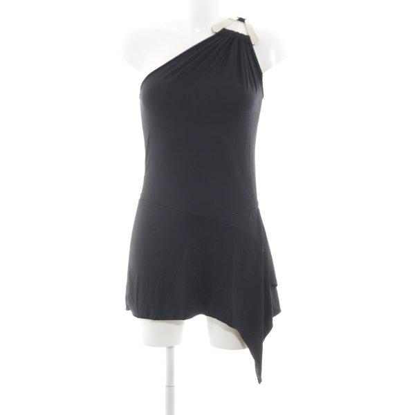 Rinascimento One-Shoulder-Top schwarz Casual-Look
