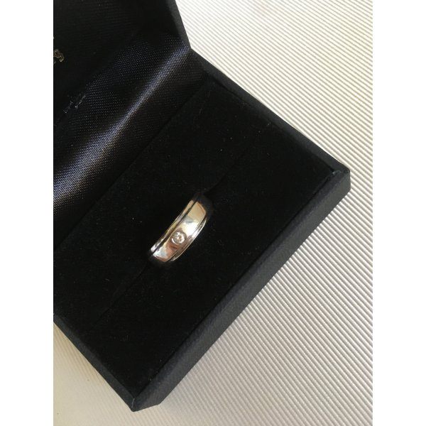 Ring 925er Sterling-Silber mit Stein