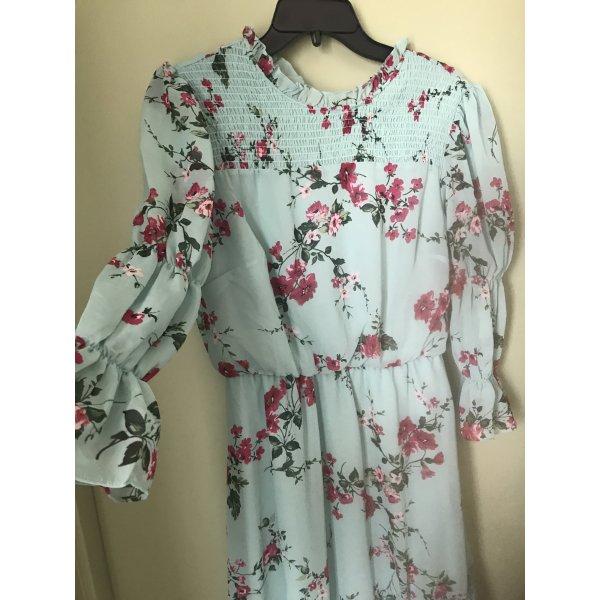 Robert Louis Damen Sommer Blumen Kleid S
