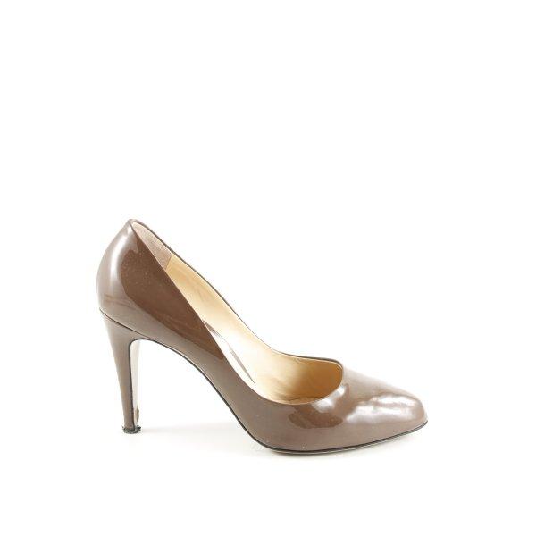 Roberto Festa High Heels bronzefarben Business-Look