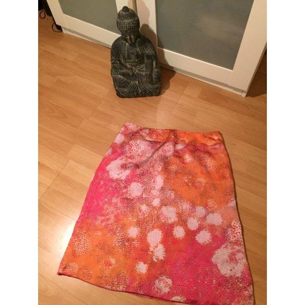 Rock seidig pink orange