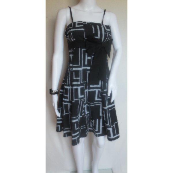 Rockabilly Retro Pin Up Vintage Petticoat Kleid mit Schleife Size S