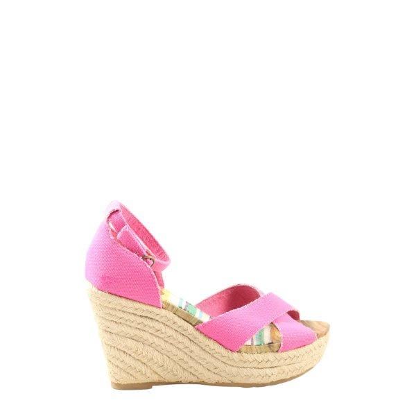 Rocket dog High Heel Sandaletten creme-pink Casual-Look