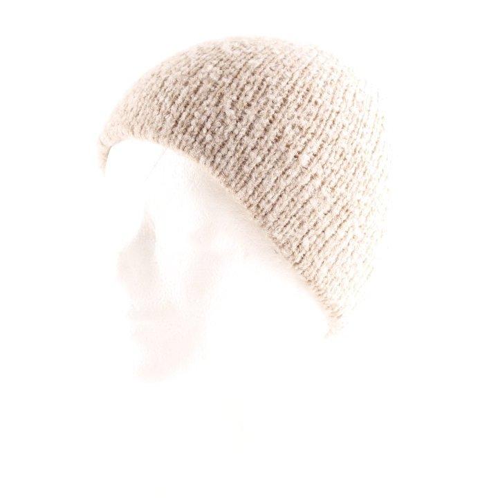 Roeckl Strickmütze graubraun Casual-Look