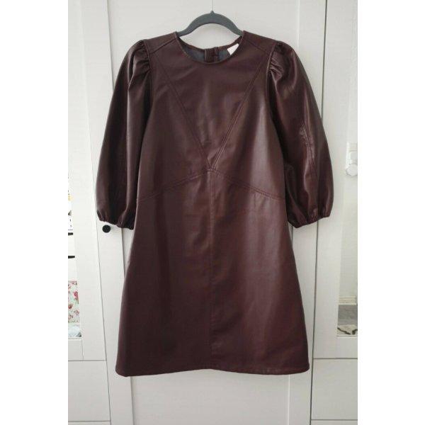 Rötlich-braunes Kleid 38