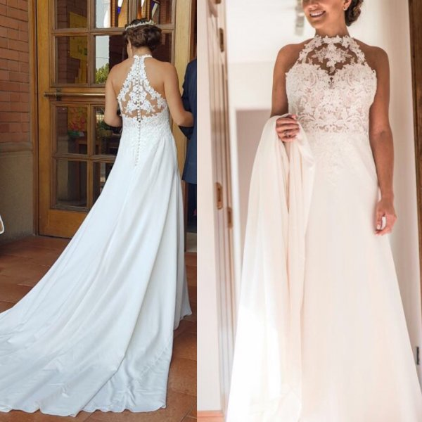 Romantisches und schickes Kleid
