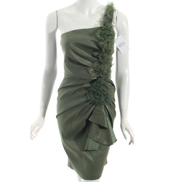 Romeo & Juliet Couture Cocktailkleid khaki Eleganz-Look