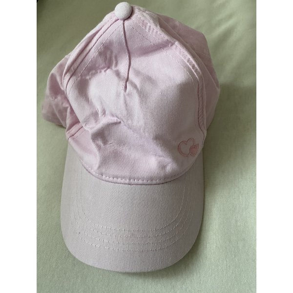 C&A Baseball Cap light pink cotton