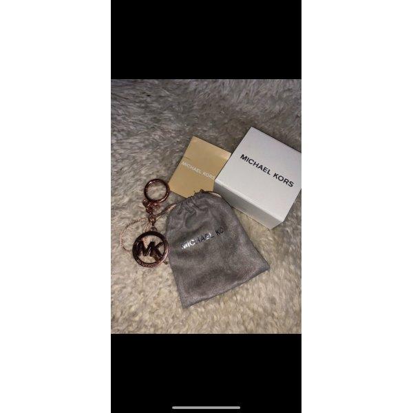 Rose goldener Schlüssel oder Taschenanhänger
