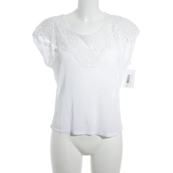 Rosemunde T-Shirt weiß Casual-Look
