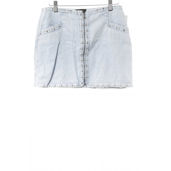 Rosie HW Paige Jeansrock himmelblau Jeans-Optik