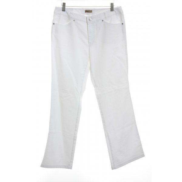 Rosner Straight-Leg Jeans weiß Casual-Look