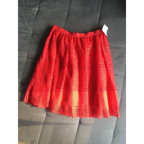 Rot / orangener Rock von Michael Kors