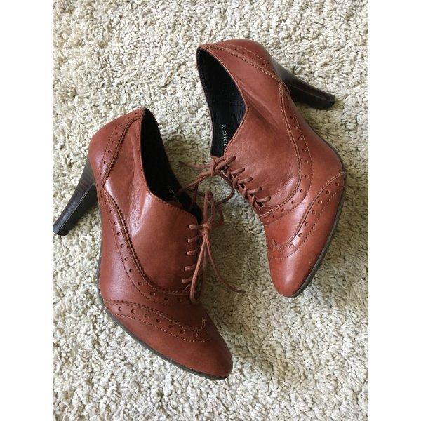 Görtz 17 Zapatos estilo Oxford marrón-bermejo