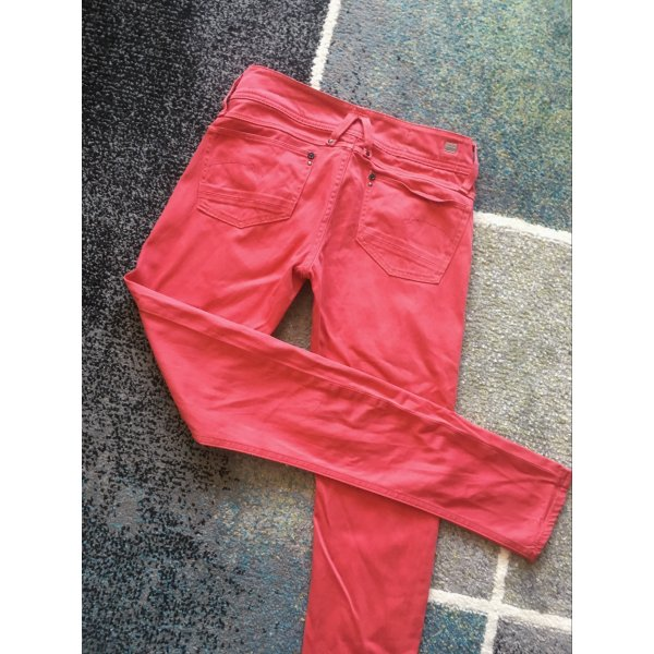 Rote Jeans G-Star