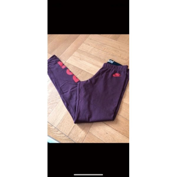 Rote Nike Leggins Just do it