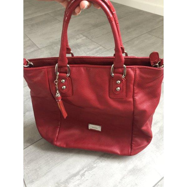 Marc Picard Carry Bag brick red-dark red