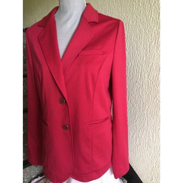 Roter Stretch Blazer von Nadine H.