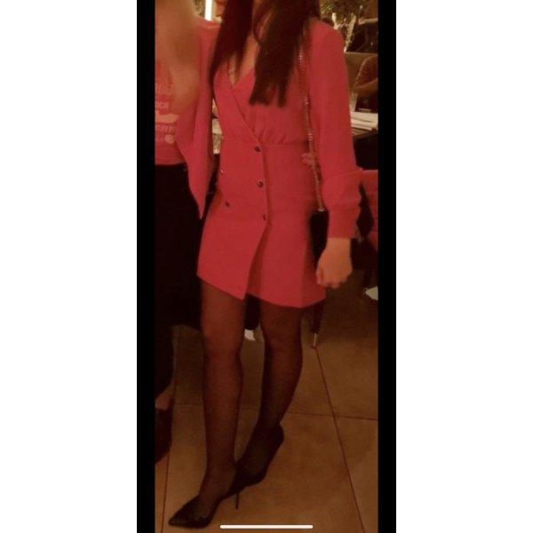Rotes Kleid .Minikleid.Langarmkleid .
