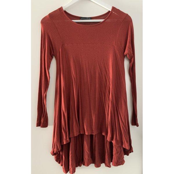 Rotes Oberteil von Zara in S