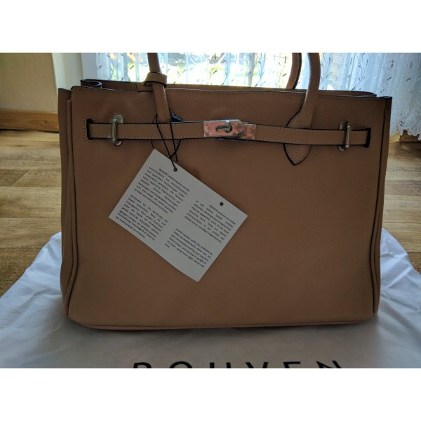 Rouven Carry Bag camel leather