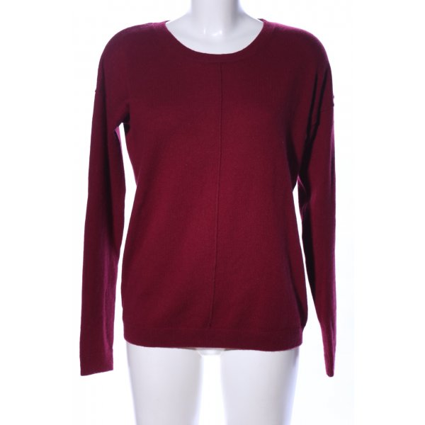 s.Oliver Kasjmier trui rood casual uitstraling