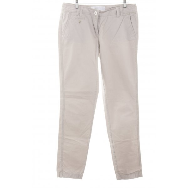 s.Oliver Chinohose creme Casual-Look