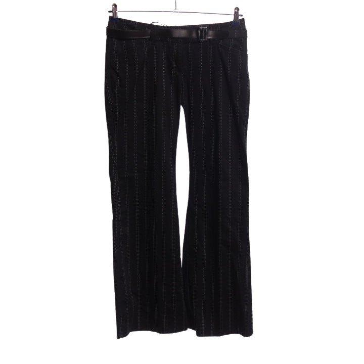 s.Oliver Jersey Twin Set schwarz-weiß Allover-Druck Business-Look