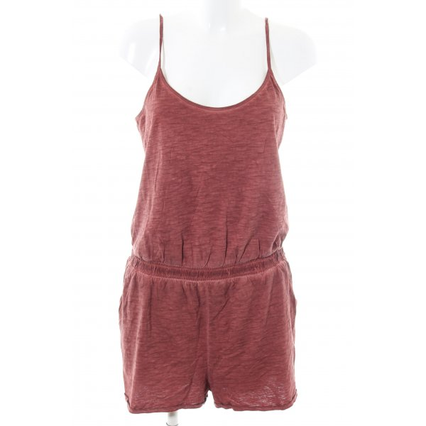 s.Oliver Jumpsuit rot meliert Casual-Look