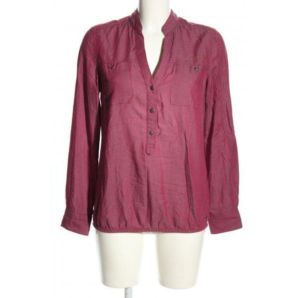 s.Oliver Schlupf-Bluse pink Casual-Look
