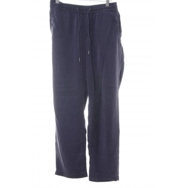 s.Oliver Stoffhose lila Casual-Look