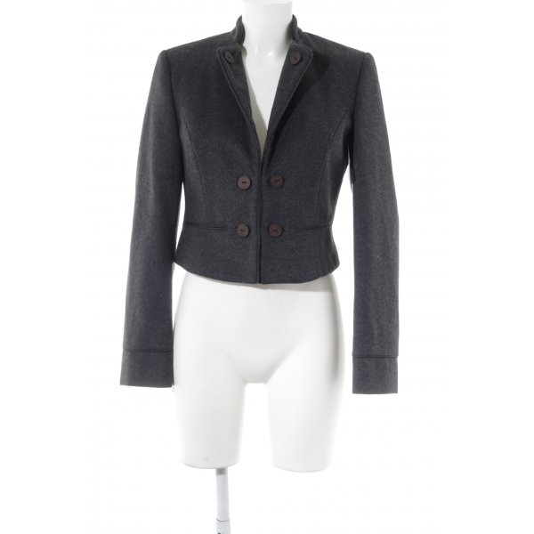 s.Oliver Wool Blazer taupe flecked casual look