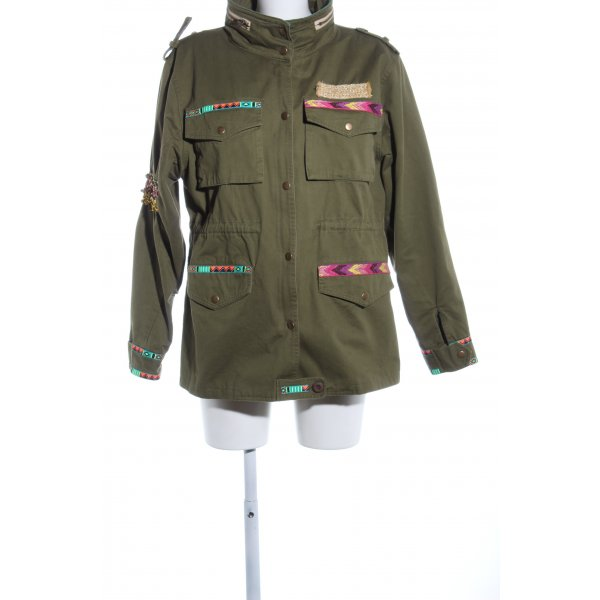 Dont believe the hype Safarijacke Allover-Druck Business-Look