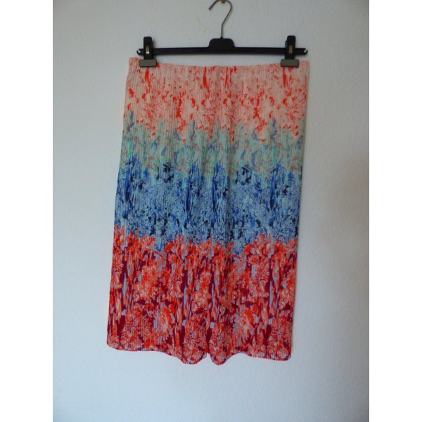 H&M Pleated Skirt multicolored polyester