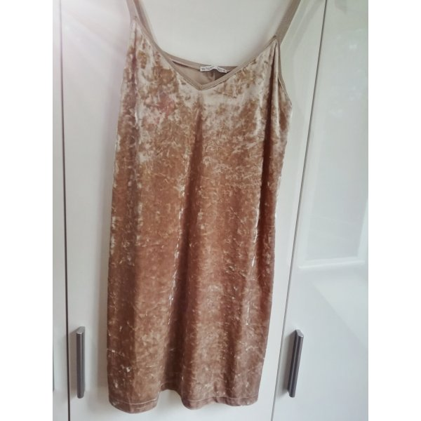 Samt kurzes Kleid