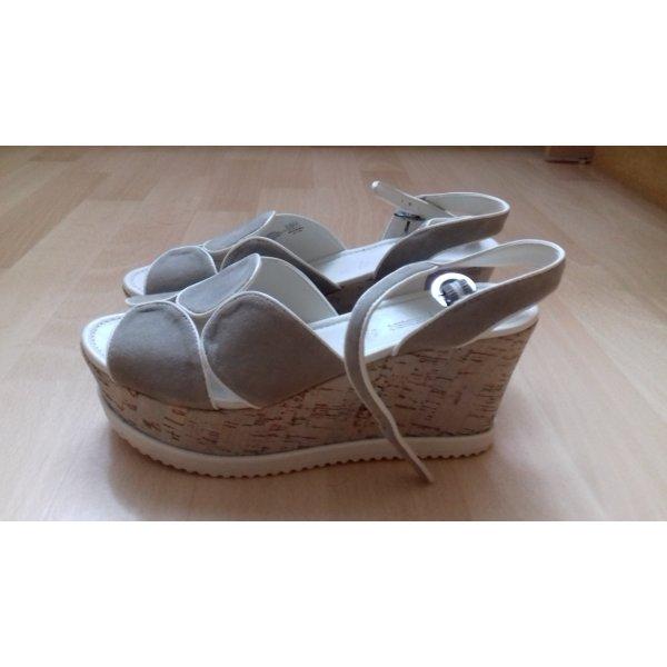 Gerry Weber Platform High-Heeled Sandal light grey