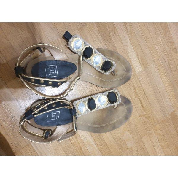sandalen 37 schwarz inci