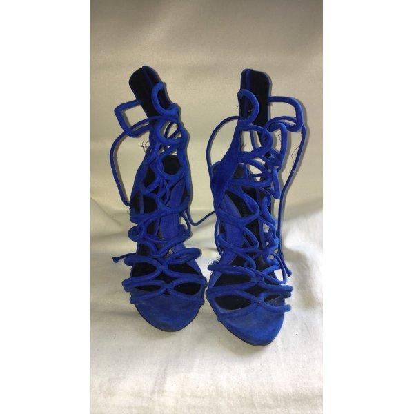 Sandalette in Schnüroptik