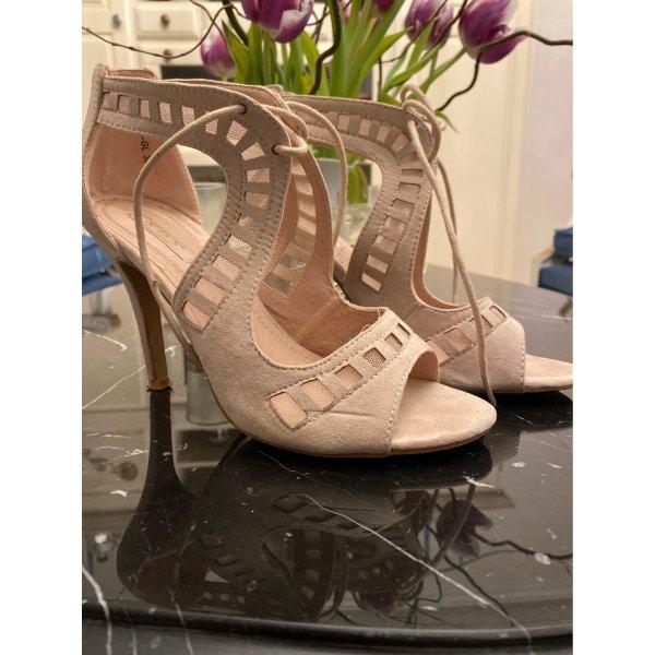 Sandaletten beige Gr.38
