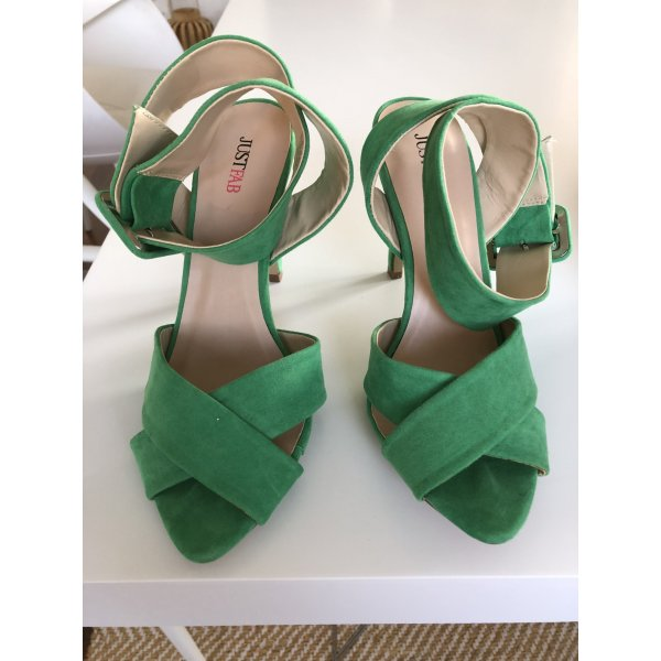 Sandaletten in grün | Just FAB Gr. 40