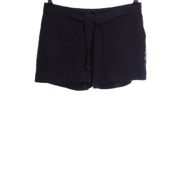 Sandro Hot Pants schwarz Casual-Look