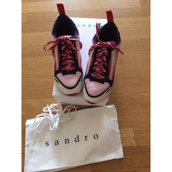 Sandro Paris *Flame sneaker* #chunky sneaker
