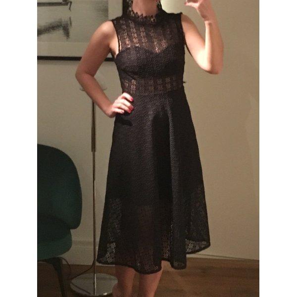 "Sandro Paris - Kleid ""Alisa"" mit Spitze"