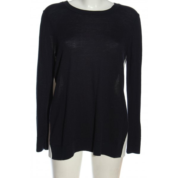 Sandro Paris Knitted Sweater black-white casual look