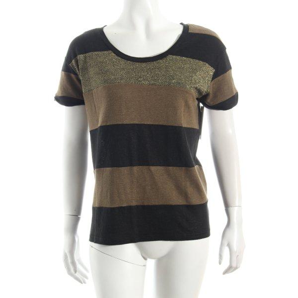 Sandro T-Shirt mehrfarbig Glitzer-Optik