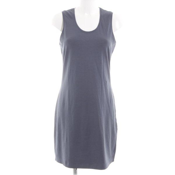 Sandwich Shirtkleid blau Casual-Look