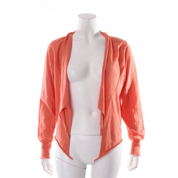 Sandwich Strickjacke apricot Urban-Look