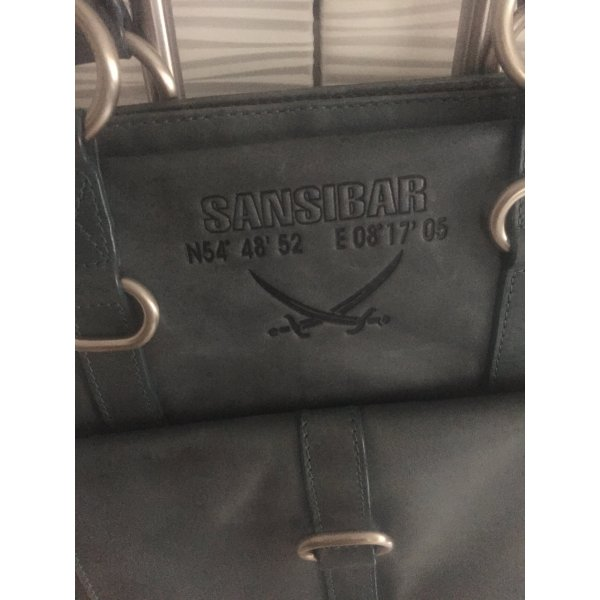Sansibar Tasche aus Leder