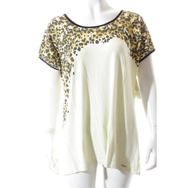 Sarah Kern Shirt hellbeige Leomuster Casual-Look
