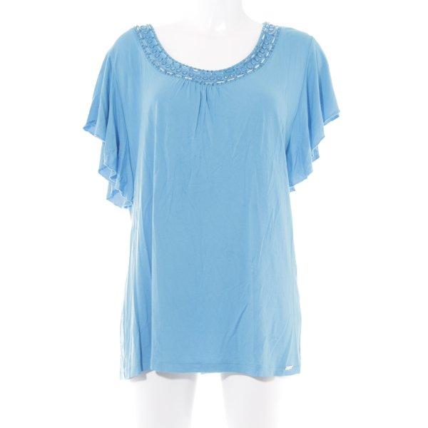 Sarah Kern T-Shirt neonblau Casual-Look